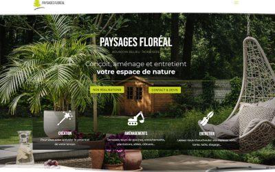 Paysages Floréal est fier de vous présenter son nouveau site
